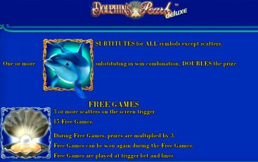Бонусная игра игрового аппарата Dolphins Pearl Deluxe